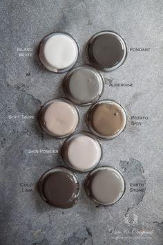 Kleuren najaar winter 2013/2014 Prachtige kleuren die ook goed te gebruiken zijn in een stoer interieur.
