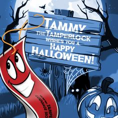 #TammytheTamperlock loves #Halloween #tamperlock #travel