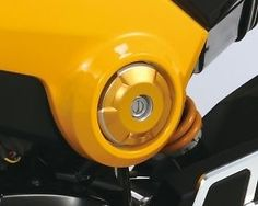 KITACO SIDE ACCENT COVER HONDA MSX 125 GROM / 4 COLOURS AVAILABLE / NEW / JAPAN