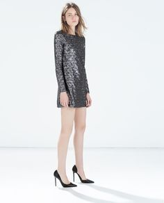 SEQUINNED DRESS-Party Edit-WOMAN | ZARA United States