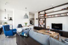 Eklektyczny apartament na Wilanowie