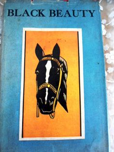 Black Beauty- Vintage Book-Hard Cover-Copyright 1965- Anna Sewell- Horses Books Movies Literature Young Adult Fiction Gift Novel Christmas