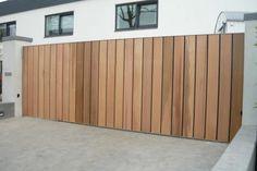 Backyard Gates, Driveway Landscaping, Driveway Gate, Fence Gate, Fences, Wooden Garden Gate, Garden Gates, Front Gates, Entrance Gates