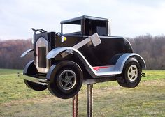 Antique Car Mail Box