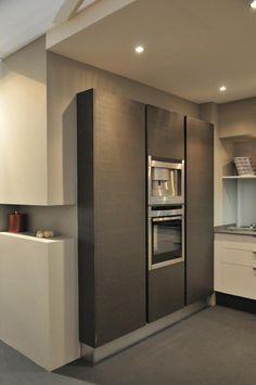 Conception de cuisine interieur and bar on pinterest for Cuisines encastrees