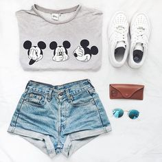 Polyvore, Outfit, Fashion, Summer Outfit, Converse, Style, Topshop, Clothing, Summer