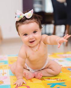 O meu Deus que foto !!!!!! ❤❤❤ fico com vontade de soltar o dedo uhuhuhuh 😍😍😍❤❤❤ 7° mês de pura alegria... sorrisos... e muito amor 😘😘😘😘…