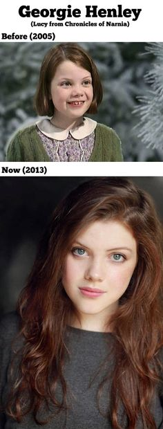Funny pictures about Georgie Henley then and now. Oh, and cool pics about Georgie Henley then and now. Also, Georgie Henley then and now. Georgie Henley, Pretty People, Beautiful People, Beautiful Women, She Is Gorgeous, Absolutely Gorgeous, Chronicles Of Narnia, Thing 1, Then And Now