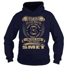 SMET Last Name, Surname Tshirt