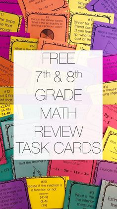 and Grade Math- To the Square Inch has members. This group is for and grade math teachers to collaborate, bounce ideas off each. 7th Grade Math Games, Guided Math, Math 8, Math Tutor, Free Math, Special Education Math, Al Final, Eureka Math, Math Task Cards