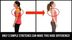 For those who spend a lot of time seated, rounded shoulders can become a serious issue. Perform these simple exercises at home to reverse and prevent it! Posture Fix, Better Posture, Bad Posture, Improve Posture, Scoliosis Exercises, Posture Exercises, Body Exercises, Rounded Shoulder Exercises, Easy At Home Workouts