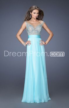 2014 Lovely Floor-length Fitted Ruched Waistband Sheath/Column Chiffon Prom Dresses