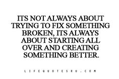 Create something better