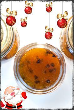 Marmellata di arance con gocce di cioccolato