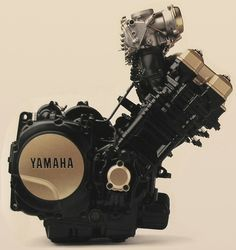 Yamaha 750, Yamaha Super Bikes, Motorcycle Engine, Motorcycle Art, Cool Motorcycles, Harley Davidson Motorcycles, Engineering Works, Triumph Bobber, Custom Cycles