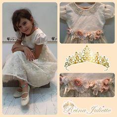 Vestidos Reina Juliette, para niñas coquetas.