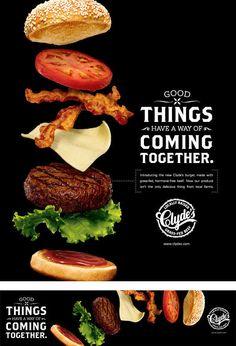 23 Ideas Design Menu Burger For 2019 Menue Design, Food Graphic Design, Food Menu Design, Food Poster Design, Design Web, Restaurant Advertising, Restaurant Poster, Food Advertising, Advertising Design