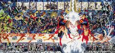 It's a DC double-take in this trippy look at superheroes and their alt-reality shadows.