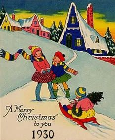 Image detail for -electric christmas lights 1930 1940 the depression years