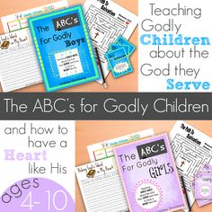 The ABC's for Godly Children Bible Curriculum Bundle - The Road to 31