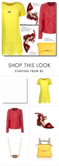 """Runway Look"" by soks ❤ liked on Polyvore featuring Shashi, Fendi, simple, party and polyvoreeditorial"