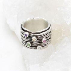 Pentagramme celtique Star .925 Sterling Silver Ring engagement Promesse Bague