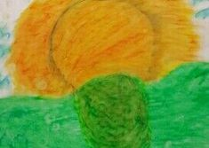 Oil Pastels, Watermelon, Fruit, Pictures, Photos, Drawings