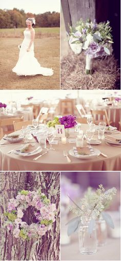 purples and neutrals... This is why i love the color purple. T.r.m we are definitely doing this :)