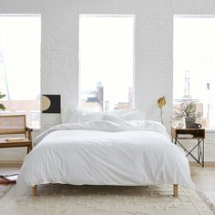 """Known as """"the internet's favorite sheets"""" for good reason, Brooklinen has built a thriving business on making high-quality sheets at great prices, which they maintain with their direct-to-consumer model. Brooklinen has a number of trendy styles, as well as classics. Want to go super-luxe? Try the Brooklinen cashmere bedding!"""