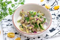 Low carb recepty s nízkym obsahom sacharidov Clean Recipes, Healthy Recipes, Mini Foods, Potato Salad, Good Food, Veggies, Low Carb, Garam Masala, Keto