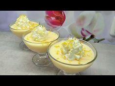 Cytrynowa szpajza Slaski deser - YouTube The Creator, Pudding, Sissi, Food, Youtube, Polish Food Recipes, Kuchen, Decorating, Custard Pudding