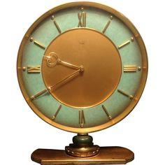 Junghans Meister Bronze Desk Clock