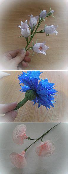 Конфетные цветочки