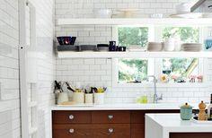 Stilrent Ikeakök i The Hamptons - Sköna hem