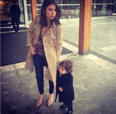 Natasha Goldenberg and her daughter.