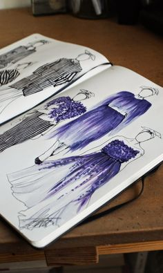 Jazmine Cant Illustrations: Giambattista Valli Fall 2014 Couture - From Parts Unknown Fashion Illustration Sketches, Fashion Sketchbook, Fashion Sketches, Fashion Design Portfolio, Fashion Design Drawings, A Level Textiles, Giambattista Valli, Designs To Draw, Drawing Designs