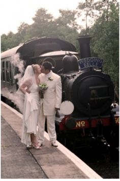Going by train to your wedding #Transportation