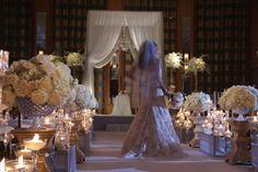 Romantic Wedding Ceremony at Chicago Peninsula Hotel