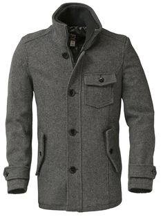 Shott NYC Wool Car Coat DU738 Bring out your personality with our men's wool car coat. From cold nights to hot dates this Canadian made fingertip length coat leaves you feeling nothing short of nirvana. Features 24 oz. Melton wool, satin lining, two inside pockets, double zipper/button closure and rib knit stand up collar.