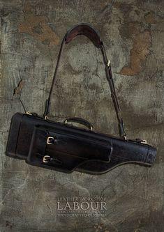 Мужские сумки ручной работы. Ярмарка Мастеров - ручная работа. Купить Кофр кожаный  для ружья Merkel 96k, мод.3. Handmade.