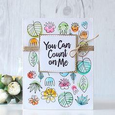 Day 2 of @mftstamps August Release Countdown. Blissful Blooms Stamp Set is super adorable!!! #mftstamps #mftdienamics #flower #bloom #watercolor #messywatercoloring #papercrafts #cardmaking #handmade #stamping #핸드메이드 #카드 #스탬핑 #워터칼라