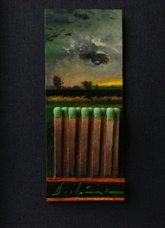 """""""EYE OF THE STORM: ENVY"""" by Michael Dubina 2015 Matchbook Series Day 132"""