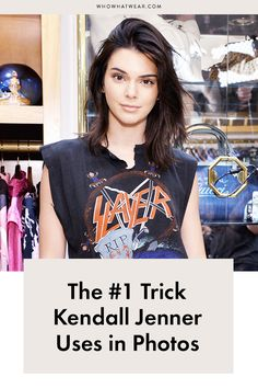 There's a science behind every super photogenic celebrity. Kendall Jenner's secret? It's much easier than you think. Here's how she looks flawless in every photo she takes.