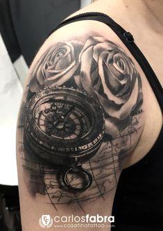 tattoo compass and rose - Cerca con Google