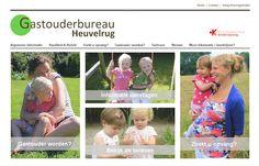 www.gastouderbureauheuvelrug.nl, Gemaakt door Marc Satijn