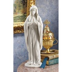 Free 2-day shipping. Buy Design Toscano Blessed Virgin Mary Bonded Marble Statue at Walmart.com