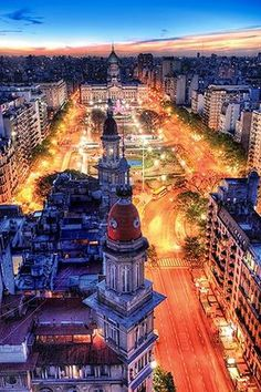Congressional Plaza ~ Buenos Aires, Argentina