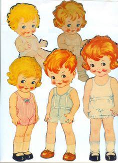 Paper Dolls 1934