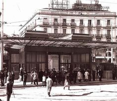 Marquesina del Metro en la Puerta del Sol. | por J.L.Caro