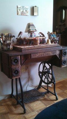 Vintage Wheeler and Wilson sewing machine